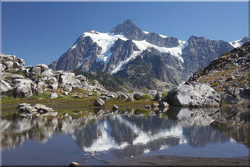 In the Mirror (Mt Baker Area)