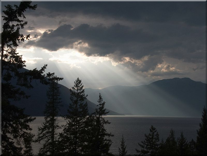 Kootenay Lake - Evening After the Storm