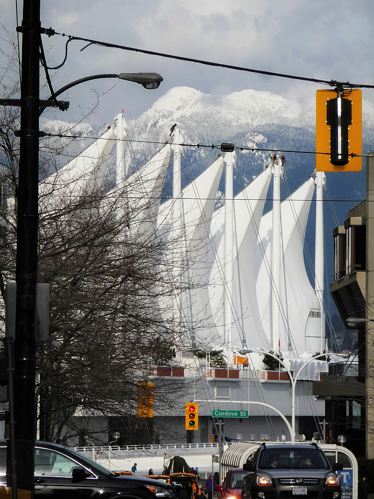 View Towards Canada Place - East Side