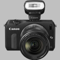 EOS M with EF-M 18-55mm f/3.5-5.6 STM and Flash Kit