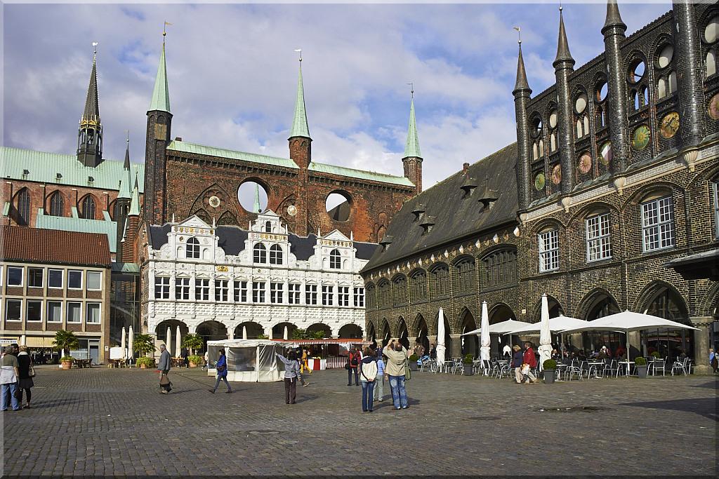 Lubeck - Central Square